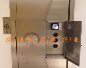 广东*知名富豪别墅用c级金库门、紧急避难室安全屋安装调试完毕